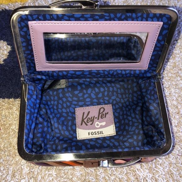 Fossil Handbags - Fossil Key-Per Cosmetic Case